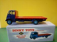 Modellino DIE CAST Dinky Toys Camion Guy Flat Truck 512 1/43 1:43 Atlas