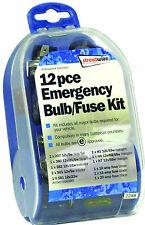 Streetwize de emergencia y viajes Europea H1, H4 y H7 Bombilla y todos los Conjunto Kit de fusibles