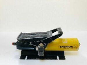 ENERPAC PA133 PNEUMATIC AIR HYDRAULIC FOOT PUMP 700 BAR/10,000 PSI