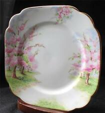 "Vntg ROYAL ALBERT Bone China England BLOSSOM TIME Pattern 7"" Square Salad Plate"