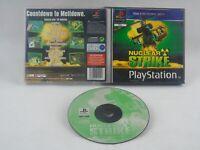Nuclear Strike PS1 PlayStation 1 No Manual PAL