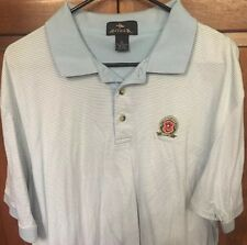 Antigua 2006 PGA Championship Medinah Golf Club Polo Shirt Blue Striped Men's XL