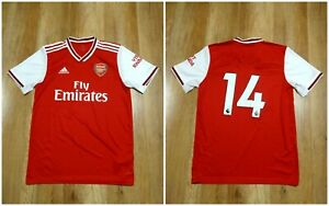 ARSENAL 2019/2020 HOME ADULT Size M Adidas shirt jersey  #14 maillot soccer