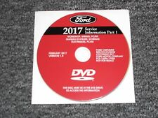 2017 Ford Escape Shop Service Repair Manual DVD S SE Titanium 1.5L 2.0L