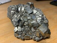 Beautiful Pyrite Crystal Cluster 1+ Lbs! US Seller Free Ship! Lot# SP0623B