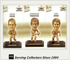 2008 Select NRL Gold Figurine Collectable Trading CARDS team Set Cowboys (3)