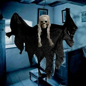 Halloween Hanging Skull Head Ghost Horror Props Ornaments Party Home Decorations