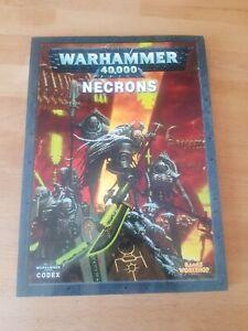 Warhammer 40k Codex Necrons
