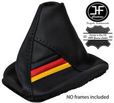 German Flag Black Stitch Leather Shift Boot Fits Vw Golf Jetta Gti Gli R32 Mk5 Fits Jetta