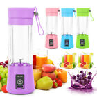 380ML Portable Blender USB Rechargeable Fruit Juicer Cup Mixer Jet Squeezers