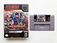Fire Emblem Mystery of the Emblem - SNES Super Nintendo English Translated (USA)