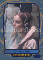 2012 Topps Star Wars Galactic Files Blue Parallel #152 Toryn Farr 129/350
