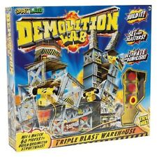 Demolition Lab Triple Blast Warehouse from SmartLab Kid's Building Toy Set NEW