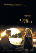 "003 Before Sunset - Ethan Hawke Romantic Movie 14""x20"" Poster"
