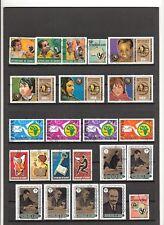 N°123,124 - GUINEE Française - ( 1970-77 ) 47 timbres oblitérés