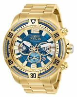 Invicta Men's Bolt Quartz Watch with Stainless Steel Strap, Gold, 26 (Model: 2..