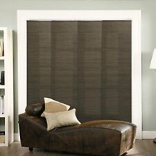 "Adjustable Sliding Panels Cut to Length Vertical Blinds French 80""W X 96""H"