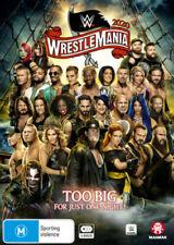 WWE - Wrestlemania 36 (2020) 3 Disc Set DVD BRAND NEW SEALED 🔥🔥