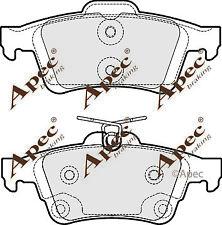 REAR BRAKE PADS FOR FORD FOCUS TURNIER GENUINE APEC PAD1822