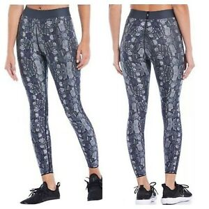 Cor by Ultracor Snakeskin Python Leggings Workout Gym NWT Large L Gray Snake NEW
