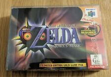 The Legend of Zelda Majoras Mask Limited Edition Gold (NINTENDO 64) In Box