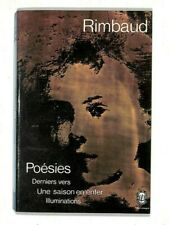 """RIMBAUD """" POESIES """" LE LIVRE DE POCHE 1982"""