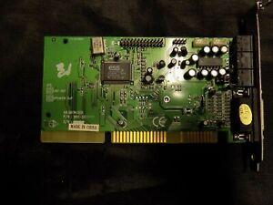 Used ESS AudioDrive ISA Computer Audio Sound Card S611-SE (S711C) 48.S611H.005