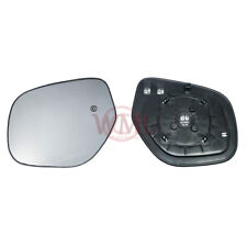 MITSUBISHI ASX 2010->08/2013 DOOR/WING MIRROR GLASS SILVER,HEATED & BASE,LEFT