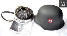 1/6 SCALE DRAGON GERMAN WWII - METAL HELMET W/ BADGE WSS - VIKTOR SCHMIDT