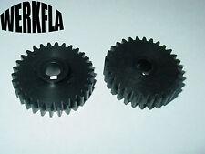 30 Zähne, Modul 1,5  Zahnrad  POM,Schwarz, Bohrung Ø10. Einhell BT-MR550