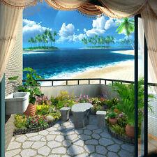 FINA natural scenery bedroom TV background wall murals