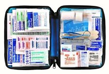 All-purpose First Aid Kit, Soft Case with Zipper, 299-Piece Full Kit, Large Blue