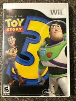 Toy Story 3 Nintendo Wii Game - Clean & Tested Working - Free Shipping