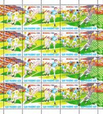 San Marino 1994 Minifoglio Campionati mondiali di calcio Mnh