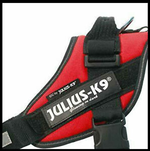 Julius-K9, 16IDC-R-0, IDC Powerharness, Dog Harness, Size: 0, Red, used once