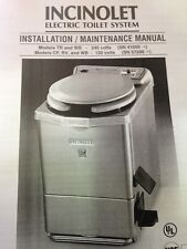 Incinolet Electric Toilet System WB Deluxe Model