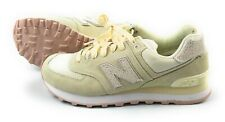 New Balance Suede Women's Ivory- Light Beg Snickers WL574CIB, Size 7
