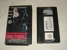 VHS TAPE in CLAM SHELL CASE - 1991 CYNTHIA ROTHROCK as CHINA O'BRIEN 2 ACTION