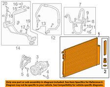 Buick GM OEM 15-16 Encore A/C AC Condenser, Compressor Line-Condenser 95410841