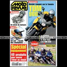 MOTO REVUE N°3497 DUCATI 916 STRADA ★ YAMAHA TDM 850 & 900 ★ JUHA SALMINEN 2001