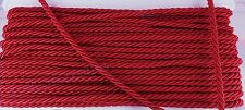 Red Shiny Twist Cord Jewelry Supplies Twine Choker Piping Thread Anchor Bracelet