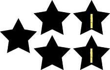 5 stelle LAVAGNA / CHALKBOARD segnali Per Negozi Cafe Bar, Ristoranti, Natale