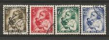 Nederland 270-273 Kinderzegels 1934  luxe gestempeld !!