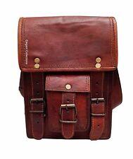 Leather Messenger Bag Cross Body Shoulder Satchel Vintage Genuine Sling Bag New