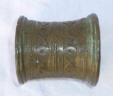 Laos ancien bracelet Ta Oi en bronze bangle lao Indochine Indochina Vietnam