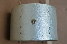"""1960's LUDWIG 12"""" CLASSIC TOM SHELL in SILVER SPARKLE for YOUR DRUM SET! #C832"""