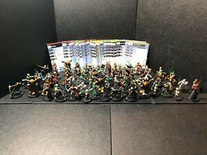 "Wizard Coast Star Wars miniature lot de 5 Stormtrooper IMPERIAL OFFICER 1.5/"" Rocket Propelled Grenade"
