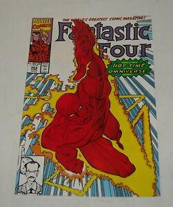 FANTASTIC FOUR # 353 MARVEL COMICS June 1991 Mr. MOBIUS 1st APPEARANCE (LOKI TV)