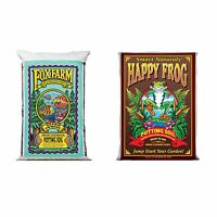FoxFarm Ocean Forest Garden Soil Mix + Happy Frog Organic Potting Soil Mix