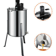 VEVOR Electric 120W 4 Frame Stainless Steel Honey Extractor